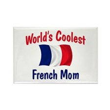Coolest French Mom Rectangle Magnet