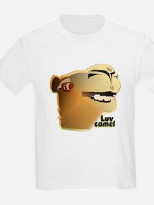 LUV CAMEL: a TIKI TOON T-Shirt