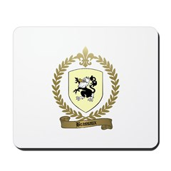 BRASSAUX Family Crest Mousepad