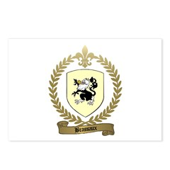 BRASSAUX Family Crest Postcards (Package of 8)