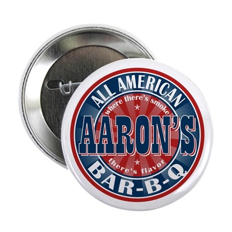 """Aaron's All American Barbeque 2.25"""" Button (100 pa"""