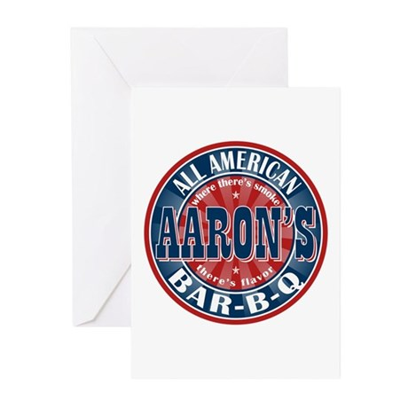 Aaron's All American Barbeque Greeting Cards (Pk o