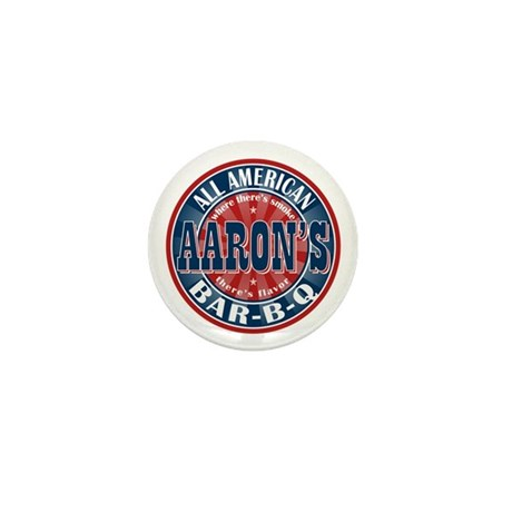 Aaron's All American Barbeque Mini Button (100 pac