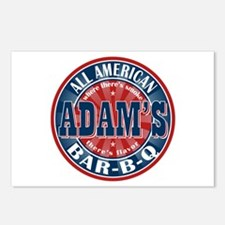 Adam's All American Barbeque Postcards (Package of