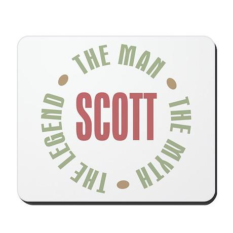 Scott Man Myth Legend Mousepad