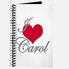 I love (heart) Carol Journal