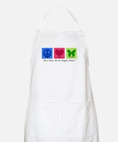 Peace Love Life BBQ Apron