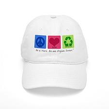 Peace Love Recycle Baseball Cap