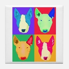 Unique Bull terrier Tile Coaster
