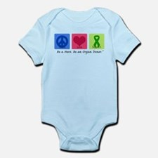 Peace Love Support Infant Bodysuit