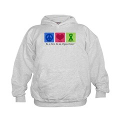 Peace Love Support Hoodie