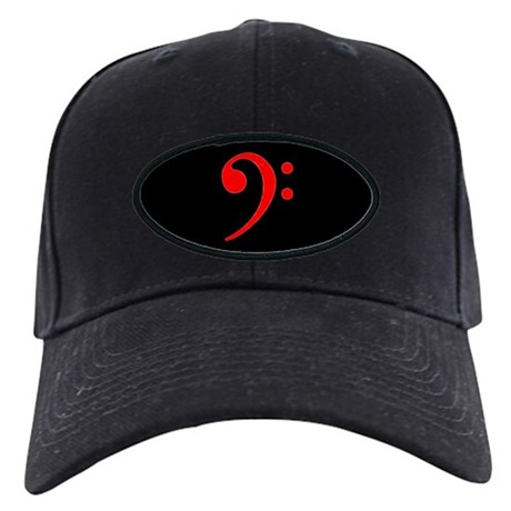 Red Clef Blackout Black Cap