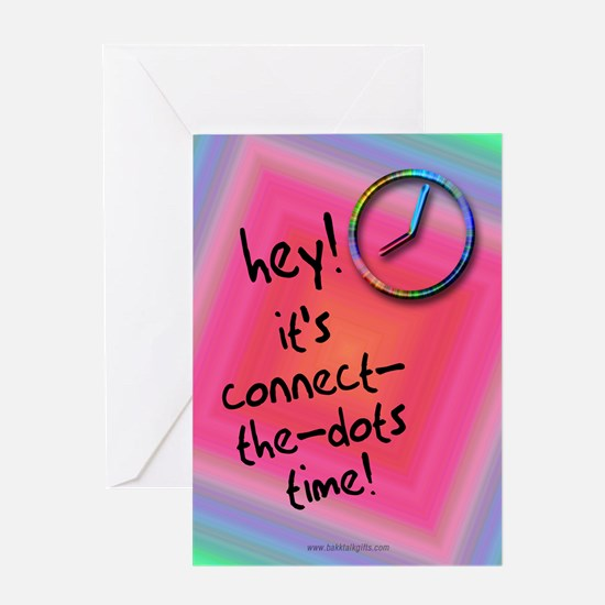 Connect the Dots... Greeting Card