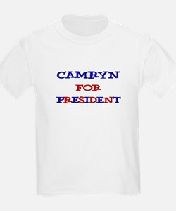 Camryn for President T-Shirt