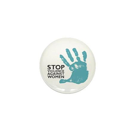 Stop Violence VS Women Mini Button (100 pack)