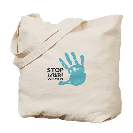 Stop Violence VS Women Tote Bag