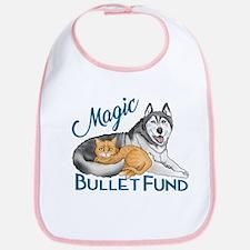 Cute Canine cancer Bib