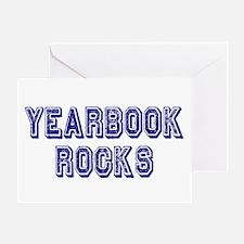 Yearbook Rocks Distressed Greeting Card
