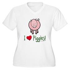 I heart piggies T-Shirt
