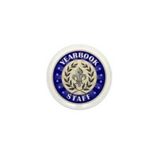 Yearbook Staff Mini Button