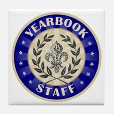 Yearbook Staff Tile Coaster