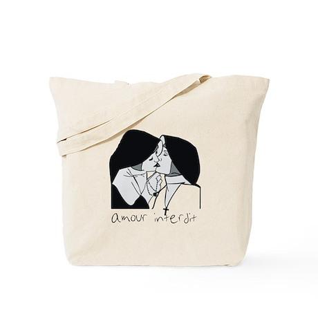 Amour Interdit Tote Bag