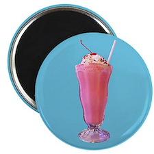 Strawberry Milkshake Magnet