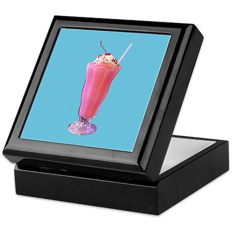 Strawberry Milkshake Keepsake Box