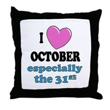 PH 10/31 Throw Pillow