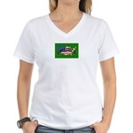 American Patriots Women's V-Neck T-Shirt