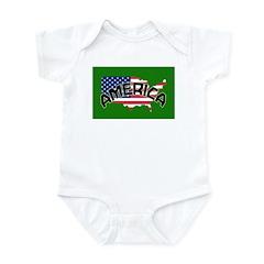American Patriots Infant Bodysuit