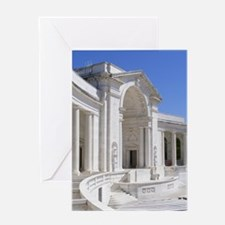 Funny Amphitheater at arlington cemetery Greeting Card