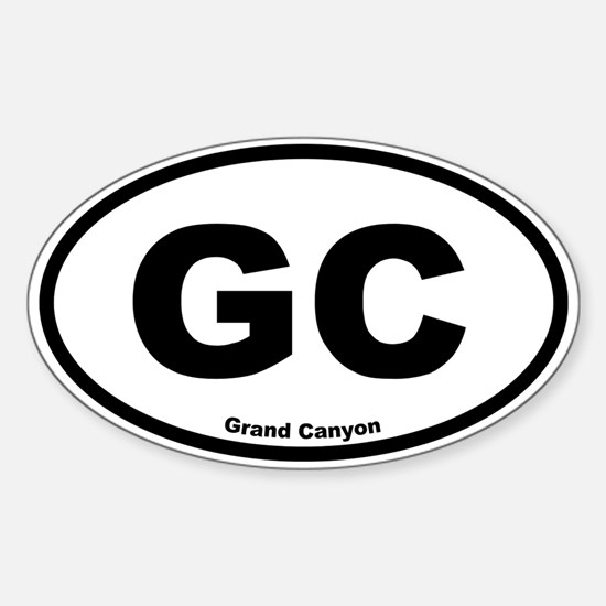 Grand Canyon Oval Decal