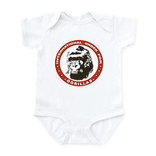 Real Genius Intl Ordr for Gorillas Infant Bodysuit