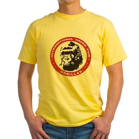 Real Genius: Intl Order for Gorillas Yellow Shirt