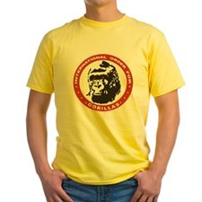 Real Genius: Intl Order for Gorillas Yellow Shirt