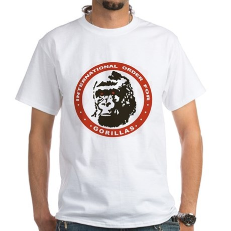 Real Genius: Intl Order for Gorillas White Shirt