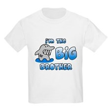 Shark Big Brother Kids Light TShirt