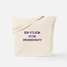 Skyler for President Tote Bag