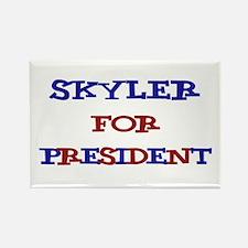 Skyler for President Rectangle Magnet