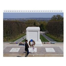 Cute National cemetery Wall Calendar