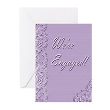 We're Engaged 2L Greeting Cards (Pk of 10)