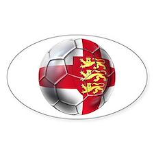 Three Lions Football Decal