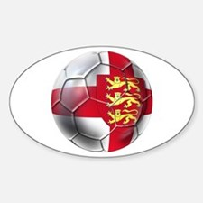 Three Lions Football Decal