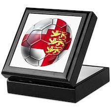 Three Lions Football Keepsake Box