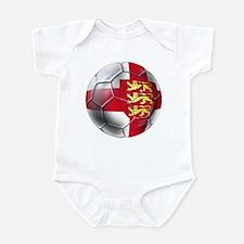 Three Lions Football Infant Bodysuit