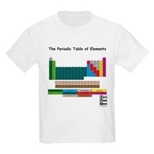 Color Enhanced Periodic Table T-Shirt