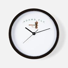 Adams Fly Lure Wall Clock