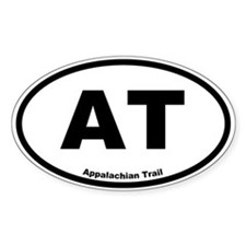 Appalachian Trail Oval Decal