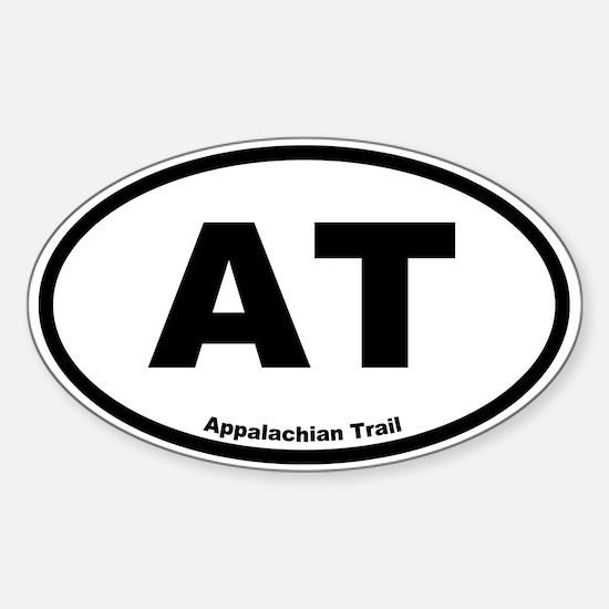 Appalachian Trail Oval Decal
